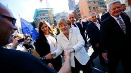 Gjermania feston 25 vjetorin e ribashkimit