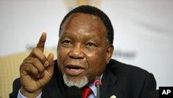 South Africa's Deputy President Kgalema Motlanthe, Nov. 30, 2012.