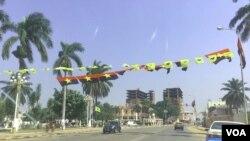 Angola - Campanha eleitoral