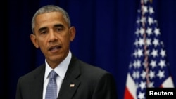 Tổng thống Hoa Kỳ Barack Obama nói luật này sẽ làm cho người Mỹ ở nước ngoài có nguy cơ bị kiện tụng. (Ảnh tư liệu)