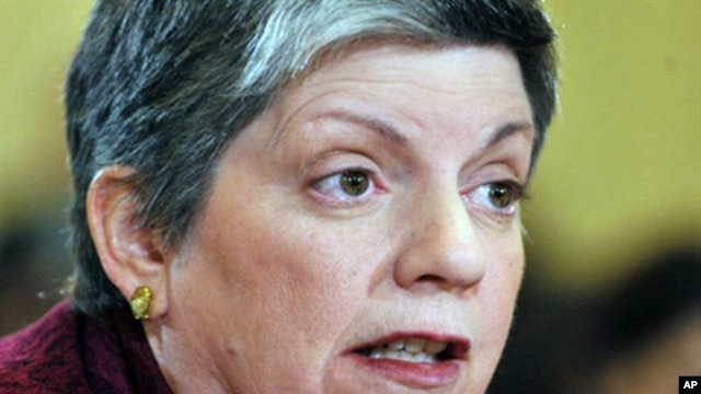 Homeland Security Secretary Janet Napolitano, February 9, 2011