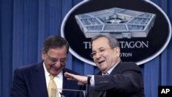 Ông Panetta họp với Bộ trưởng Quốc phòng Israel Ehud Barak.