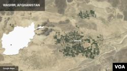 阿富汗瓦什尔地图