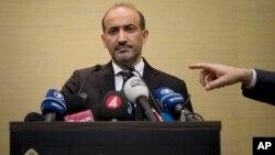 Лидер сирийской оппозиции Ахмад Джарба