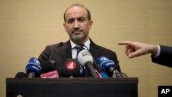 Ông Ahmad Jarba, chủ tịch của Liên minh Toàn quốc Syria nói rằng không nghi ngờ gì chế độ Syria đã chết