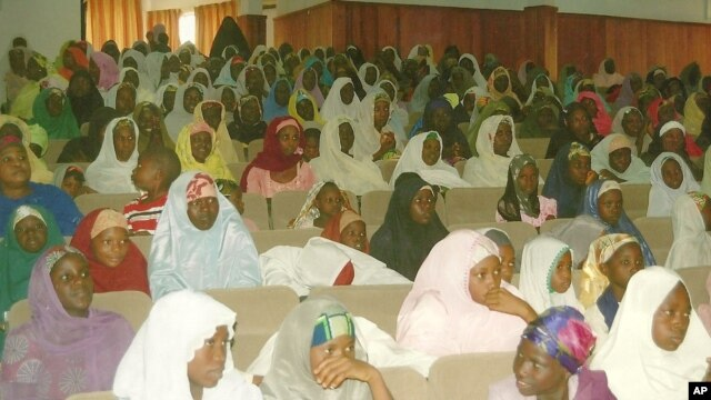 Kano State widows and orphans attend a VOWAN workshop in Kano, Nigeria (photo courtesy of VOWAN).