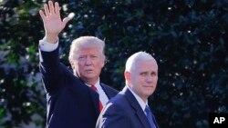 El presidente de EE.UU., Donald Trump, y el vicepresidente Mike Pence han defendido la orden ejecutiva que limita el ingreso al país de inmigrante de siete países de mayoría musulmana.