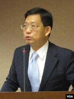 国民党立委吴育升(美国之音张永泰拍摄)