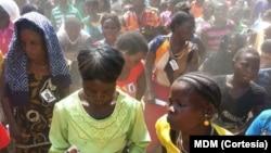 Os comícos politicos moçambicanos têm sido muito concorridos