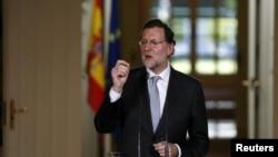 El jefe del gobierno de España, Mariano Rajoy, sorprendió con una rueda de prensa en un tono apagado y poco optimista.