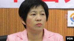 台联党立委 黄文玲(美国之音张永泰拍摄)