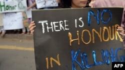 فعالان همواره قتلهای ناموسی را محکوم کرده و برای تقبیح آن راهپیمایی و اعتراض کرده اند