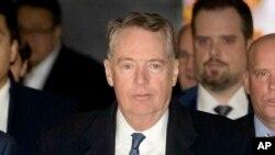 美國貿易代表萊特希澤將率領美國代表團2月21日至22日在華盛頓與中國副總理劉鶴率領的代表團進行新一輪貿易談判。