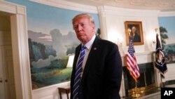 Le président Donald Trump, à la Maison-Blanche, à Washington. (AP Photo / Pablo Martinez Monsivais, Fichier)