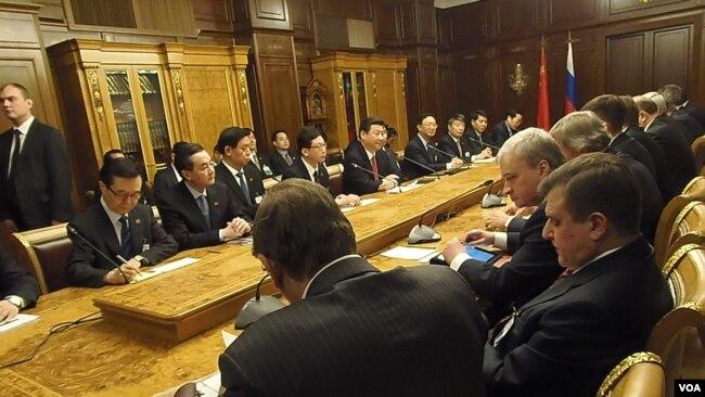 中俄领导层继续互动 但习近平访问面临诸多挑战