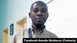 Amade Abubacar (foto) e Germano Adriano vão aguardar julgamento em liberdade