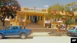 Grande Hotel da Huíla, no Lubango