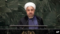 این آخرین سخنرانی حسن روحانی در دوره اول ریاست جمهوری او بود.