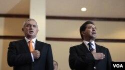 El 13 de febrero, Pérez habló de su propuesta, la cual debe ser debatida por los países afectados.