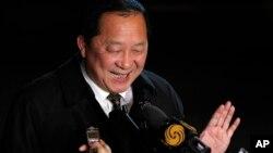 북한 측 6자회담 수석대표인 리용호 외무성 부상 (자료사진)