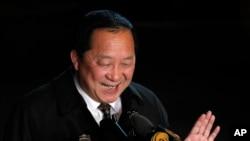 Menteri Luar Negeri Korea Utara yang baru, Ri Yong Ho.