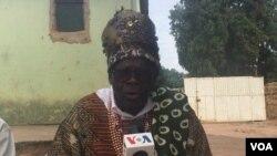 "Soberano do reino do Ndongo Buba Nvula Dala Mana ""Cabombo"""