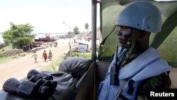 Un casque bleu de l'ONU en RDC (archives)