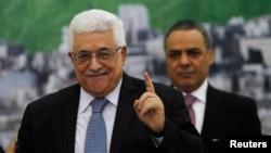 Tổng thống Palestine Mahmoud Abbas.
