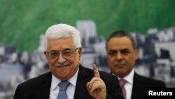 Le président palestinien Mahmoud Abbas (Reuters)