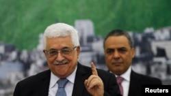 Filistin Yönetimi Başkanı Mahmut Abbas