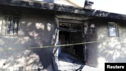 Đám cháy gây hư hại cho sảnh đường của toà nhà không bao lâu trước lễ cầu nguyện buổi trưa.