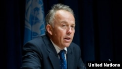Michael Keating. Photo Courtsey of UN