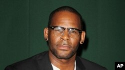 FILE - R&B singer R. Kelly