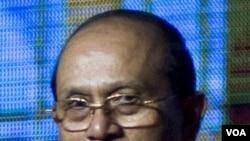 Presiden Birma Thein Sein. Pemerintahan baru Birma mendapat pujian dari utusan PBB.