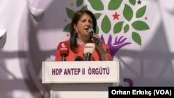 Hevseroka Giştî ya Partiya Demokratîk a Gelan (HDP) 'ê Pervîn Buldan,