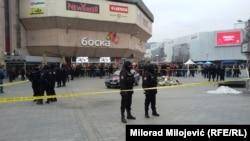Policija na Trgu Krajina
