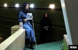 قربانیان اسیدپاشی در ایران در مجلس