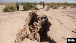 خشکسالی در استان سمنان