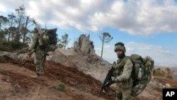 Російські військові найманці у Сирії. Фото: АР