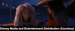 Karakter Sisu disuarakan oleh aktris Amerika keturunan Korea Selatan, Awkwafina. (Foto: Courtesy/Disney Media and Entertainment Distribution).