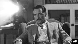 """Diễn viên Jean Dujardin trong phim """"The Artist"""" của Pháp."""
