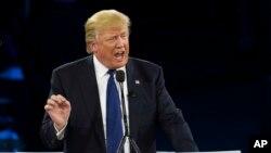 Tỉ phú Trump phát biểu trước hội nghị thường niên của Ủy ban Công vụ Mỹ Israel (AIPAC),
