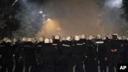 Policija obezbeđuje proteste u Podgorici