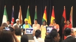 Africa's First Ladies Advocate for Women's, Children's Health