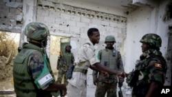 صومالیہ میں تعینات افریقی یونین اور اقوام متحدہ کی مشترکہ امن فوج (فائل فوٹو)
