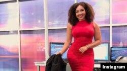 «دیمیتریا اوبیلور»، مجری جوان تلویزیون محلی دالاس تگزاس به خاطر اندامش با انتقاد روبرو شد