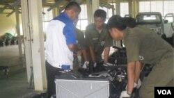 Mobil rakitan ESEMKA produksi siswa SMK Solo, Jawa Tengah (Foto: dok).