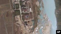 지난 4월 촬영한 북한 영변 핵 시설 위성 사진.