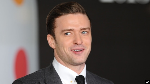 Justin Timberlake arrives at the BRIT Awards 2013 at the o2 Arena on Feb. 20, 2013, in London.