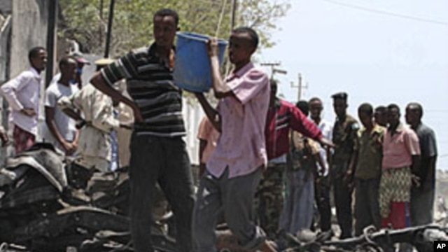 Igitero c'Umurwi al-Shabab mu Gisagara ca Mogadisho